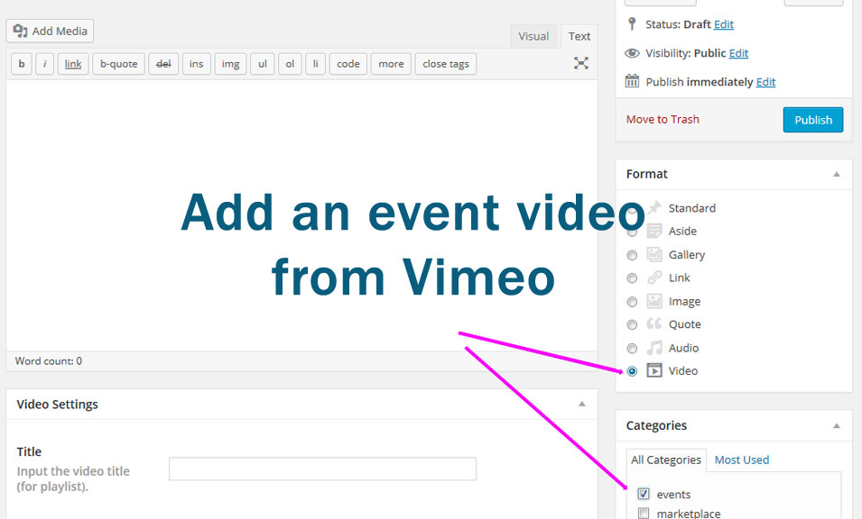 Add Vimeo